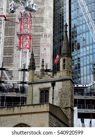 Ancient & modern city construction