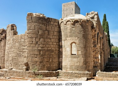 Ancient monastery of Lokrum Island, Dubrovnik, Croatia