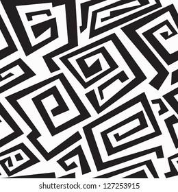 ancient monochrome seamless texture (raster version)