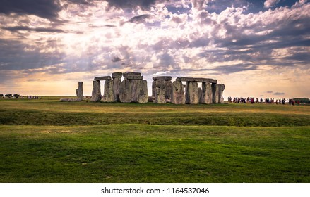 Ancient monument of Stonehenge, England