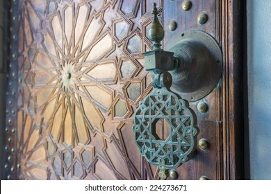 Ancient moroccan doors