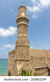 Ancient mosque in the Israeli city of Jaffa