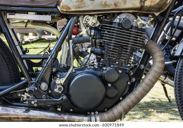 Ancient motorized antique motor