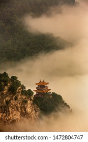 Ancient mountain temples in China