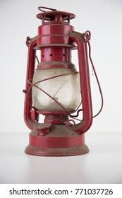 ancient oil lantern
