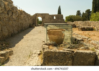 "ancient oracle ""Nekromanteion""  in Preveza Greece"