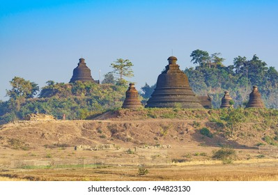 Ancient pagoda, Mrauk U ,Rakhine state ,Myanmar