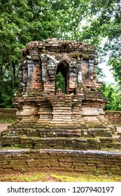 Ancient pagoda in Phra That Pu Khao temple, Thailand.