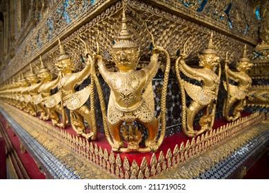 Ancient palace in Bangkok Thailand