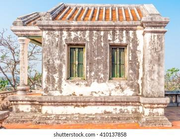 ancient palace building, Petchaburi, Thailand