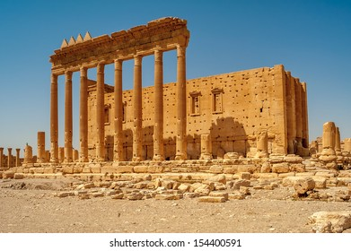 Ancient Palmyra Ruins - Temple of Bel