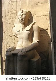 Ancient Pharaoh at Karnak