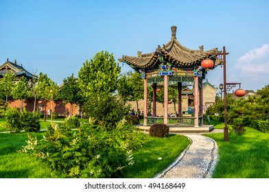 The ancient Pingyao city in China