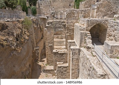 Pool of Bethesda Stock Photos, Images & Photography