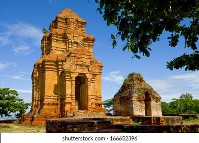 The ancient Posahinu Cham Tower in Mui Ne, Vietnam