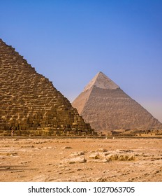 The ancient pyramids of Giza