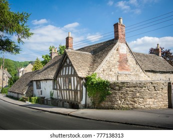 Ancient Ram Inn, former 12th century public house, reported to be one of the most haunted buildings in the country, Wotton-under-Edge, Gloucestershire, UK, June 3rd 2016