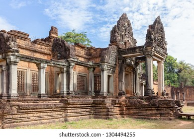 ancient remains of Banteay Samre temple, Siem Reap, Cambodia, Asia