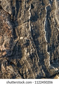 Ancient rock pattern / Canadian Shield geology