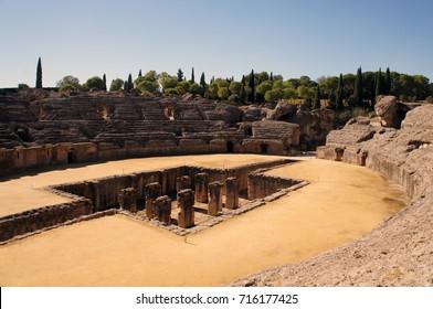Ancient Roman Amphiteater in Italica