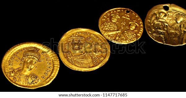 Ancient Roman gold coins