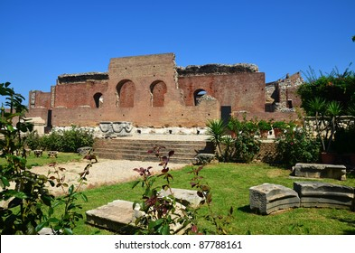 Ancient Roman Odeon in Patras Greece