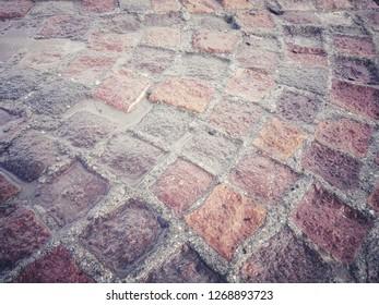 Ancient Roman paving