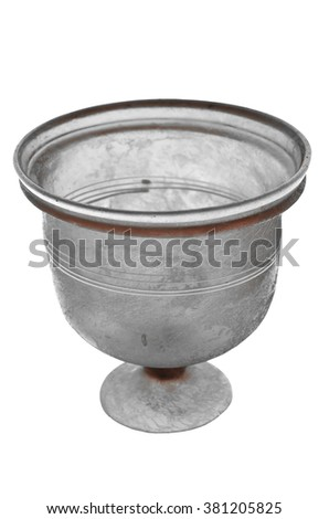 Ancient Roman Vase Made Clear Glass Stock Photo Edit Now 381205825