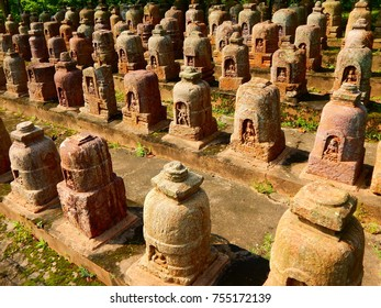 Ancient Ruined Buddhist Monestry of 800 AD at Ratnagiri , Odisha