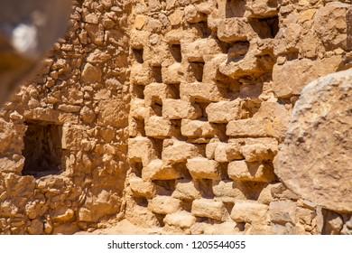 ancient ruined columbarium