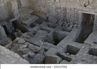 Ancient ruins built by the Wari culture, a Middle Horizon civilization that flourished in the south-central Andes and coastal area of modern-day Peru, from about CE 500 to 1000.