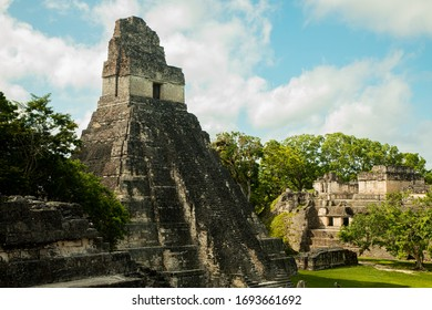 Ancient ruins in Guatemala, Central America