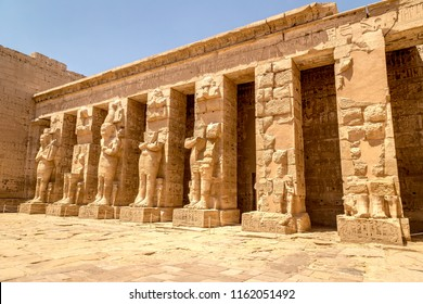 Ancient ruins of Karnak temple in Luxor, Egypt, Africa