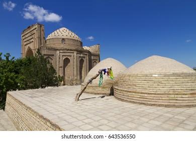 The ancient ruins of Konye Urgench, Turkmenistan - Najm ad-Din al-Kubra Mausoleum