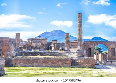 Ancient ruins of Pompeii, Italy