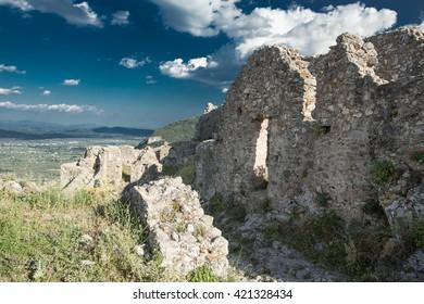Ancient ruins of Sparta, Laconia, Greece