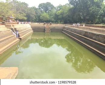 Ancient Ruins Sri Lanka Pagodas,Bhuddhism,Culture,Ancient Cities,Samadhi Statue,Kuttam Pokuna,