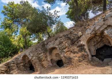 Ancient Samaritans Caves Graves Burial Site