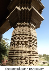 ancient sculpture art of Indian temple