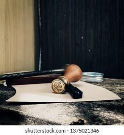 ancient seal artefact