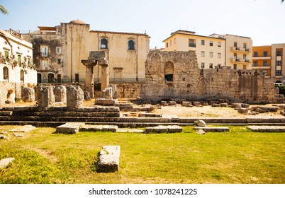 Ancient Siracusa, Sicily, Italy.