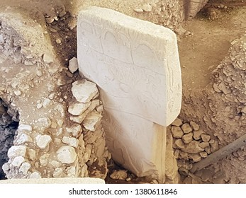 Ancient Site of Gobekli Tepe is a pre-historic place from roughly 12000 years ago in SanliUrfa, Turkey