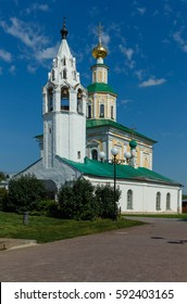 Ancient St. George's Church in the historical center of Vladimir city, Russia.