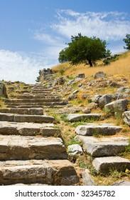 Ancient stairway to heaven, Turkey