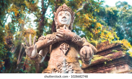 Ancient Statue in Asia