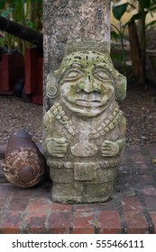 Ancient stone artwork from indigenous Colombia