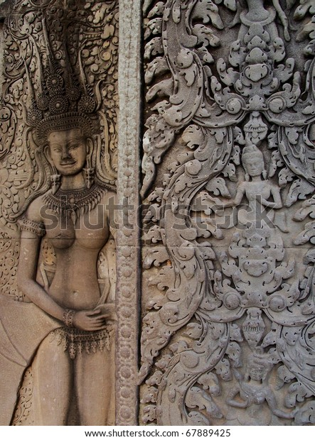 What caused the collapse of the angkor civilization