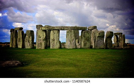 Ancient Stonehenge in Britain