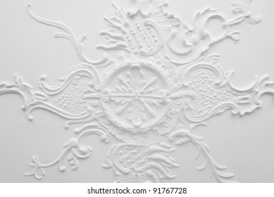 Ancient stucco ceiling - 18th century