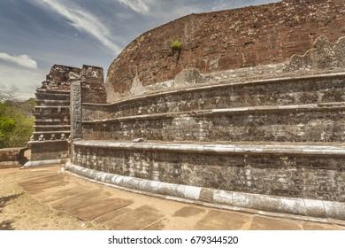 Ancient stupa Kentaka Chaitya in Mihintale, Sri Lanka